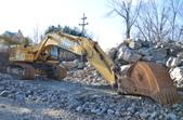 John Deere 600C Excavator