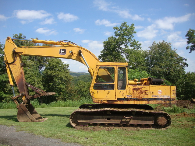 John Deere 790 Excavator Youtube Large Cheap Excavator