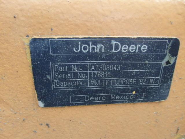 4 in 1  82'' John Deere Bucket 310 Quick Coupler AT308043