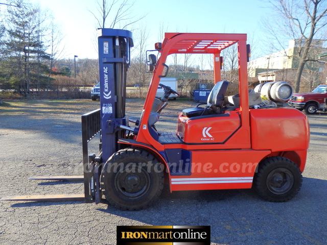 Kalmar 10 000lb lift capacity tow motor forklift used for sale for Motor lift for sale
