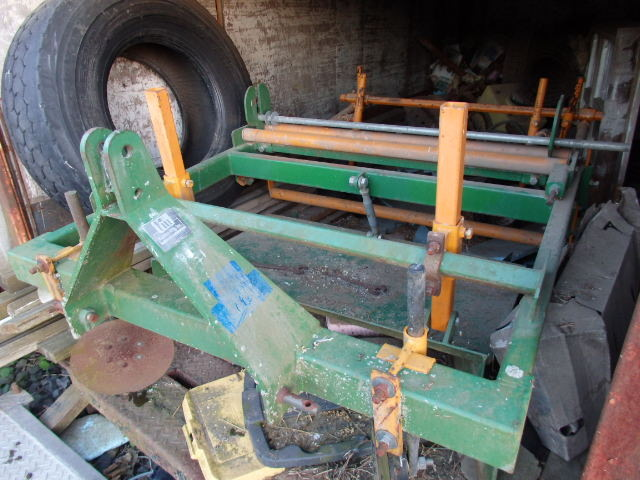 Kennco 48'' Plastic Layer Plow 3 point Hitch