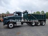 Kenworth tri axle truck
