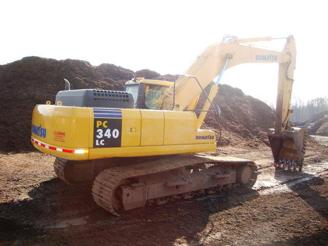 2002 Komatsu Excavator PC 340LC 7K