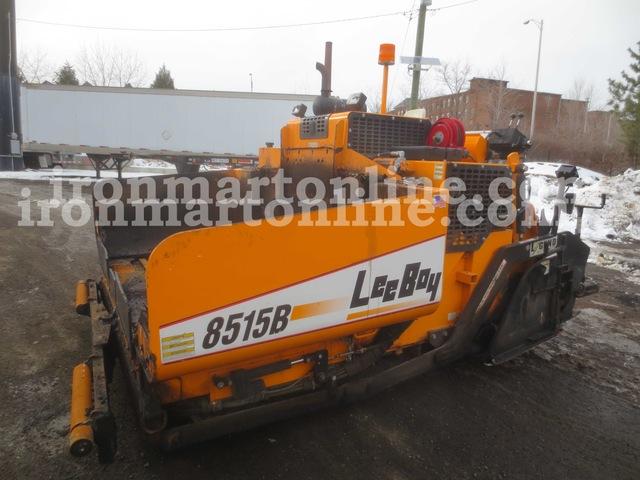 2010 leeboy 8515b paver used for sale for Leeboy motor grader for sale