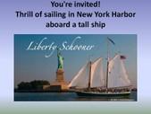 Liberty Schooner Harbor Tours