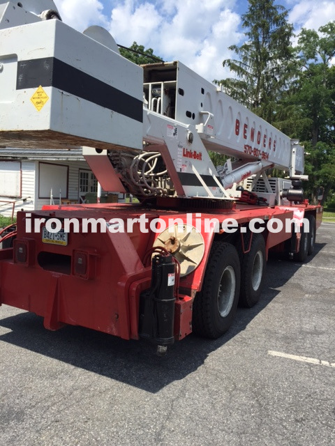 1991 Linkbelt htc 860 60 Ton Crane for sale