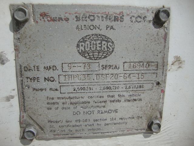 Rogers 35-Ton Ground Bearing Lowboy