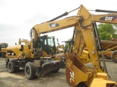 M322D Wheel Excavator