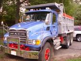 Mack Dump Truck 2003 Tandem CV700