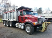 Mack Granite Tri-Axle Dump