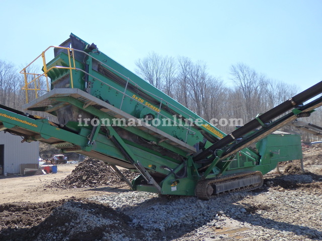 2008 McCloskey S190 Dual Deck Mobile Screener