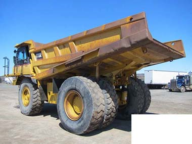2 Cat 773e Off Highway Trucks Used For Sale