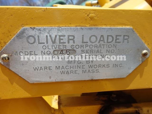 oliver oc 46 loader