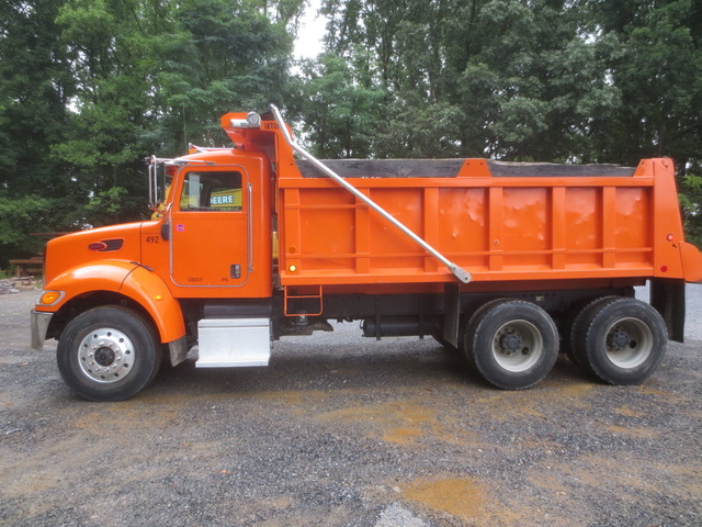 Used Dump Trucks >> 2006 Peterbilt 335 Tandem Axle Dump Truck Used For Sale