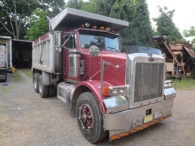 peterbilt 357 tandem axle dump truck used for sale. Black Bedroom Furniture Sets. Home Design Ideas