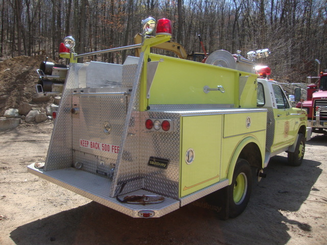 Ford F 350 4x4 Off Road Fire Pumper