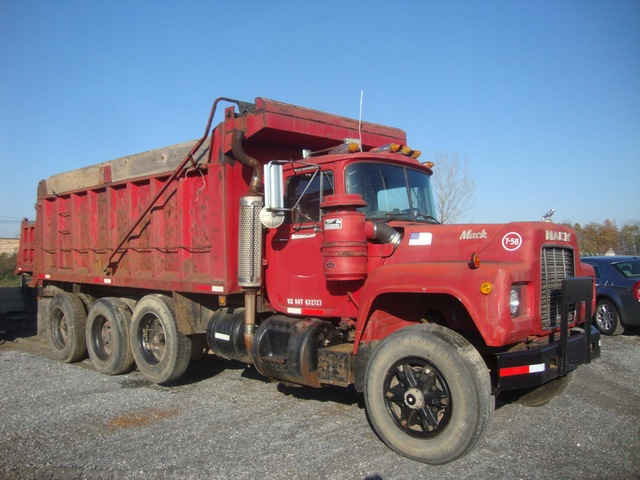 1973 Mack Tractor Truck : Used tipper trucks for sale mack tri axle dump truck