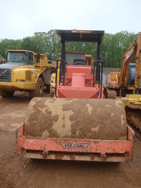 Used Hamm 3412 HTP single drum rollers Year: 2008 for sale - Mascus ...