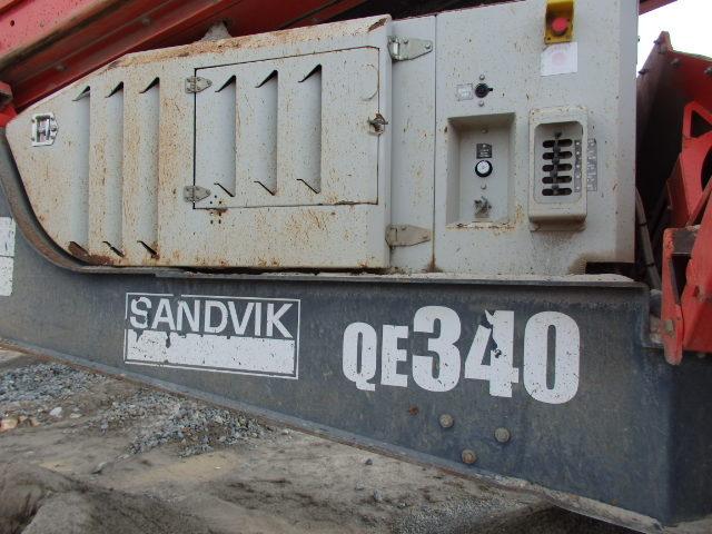 2012 Sandvik QE340 Screener