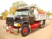 single axle dump truck for sale