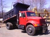 Single Axle Dump 4900 International