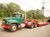 Tandem Mack Tractor w Low Boy