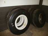 Tires 12 x 24.5 New used 385 Floaters