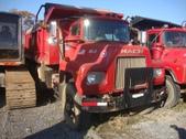 Tri Axle Mack Dump Truck