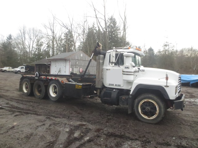 mack roll off trucks for sale
