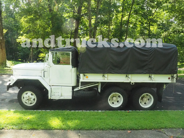 used AM General 6x6 Army Trucks White 6cyl Diesel
