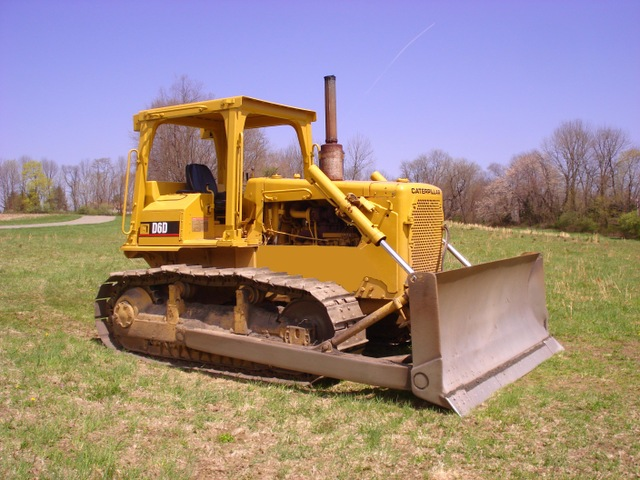 Bulldozers For Sale >> Caterpillar D6d Crawler Dozer Tractor
