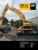Used for sale Cat 325C LCR Zero Tail