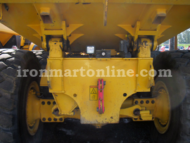 Two 2012 Volvo A35F 35-Ton Articulated Haul Trucks