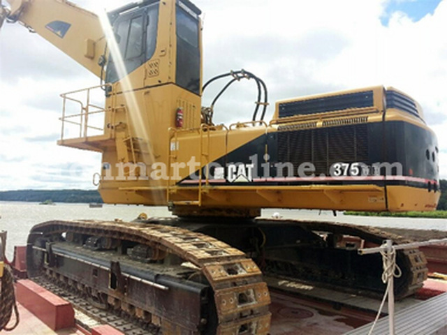 Caterpillar 375MH Material Handler used for sale