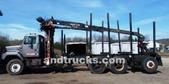 used Logging Truck Tri Axle 6x4 w Prenti
