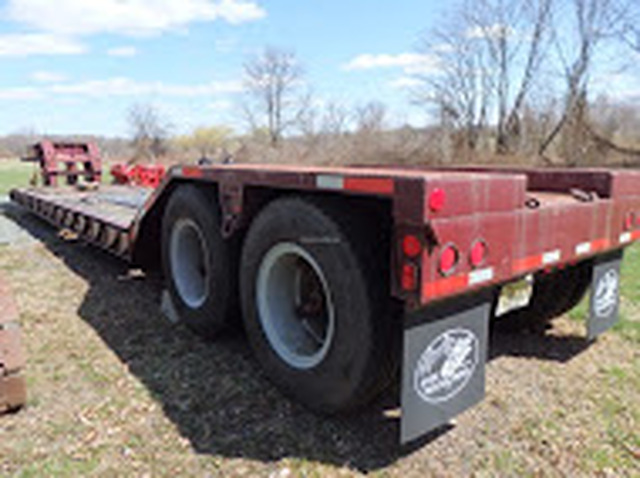1984 Witco 40 Ton Low Boy Trailer