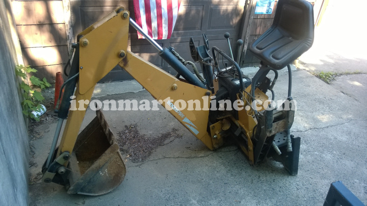 used woods 7500 backhoe attachment