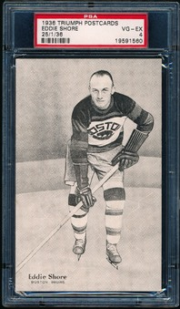1936 Triumph Hockey Postcard Set