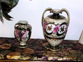 Masks Porcelain & Bohemian Glass