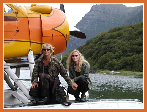 Timothy Treadwell, 46, and Amie Huguenard, 37