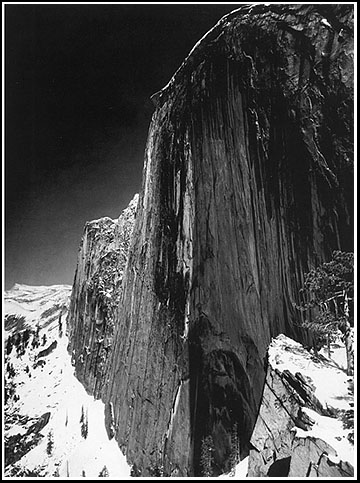 Half Dome, 1927, Ansel Adams