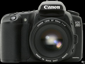 Canon 20D camera body