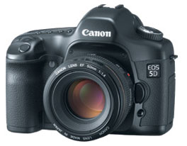 Canon 5D digital camera
