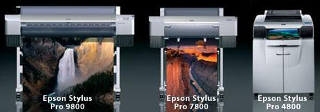 New Epson Printers