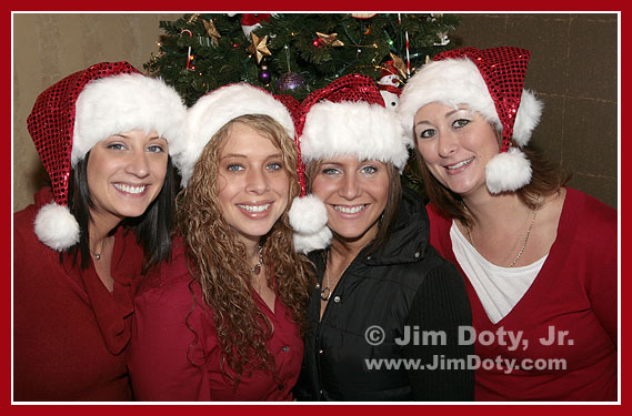 Santa's Helpers. Photo (c) Jim Doty, Jr.