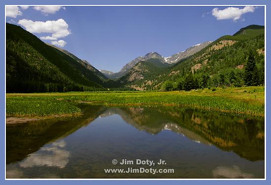 Fall River, Horseshoe Park, Rocky Mountain National Park, Colorado