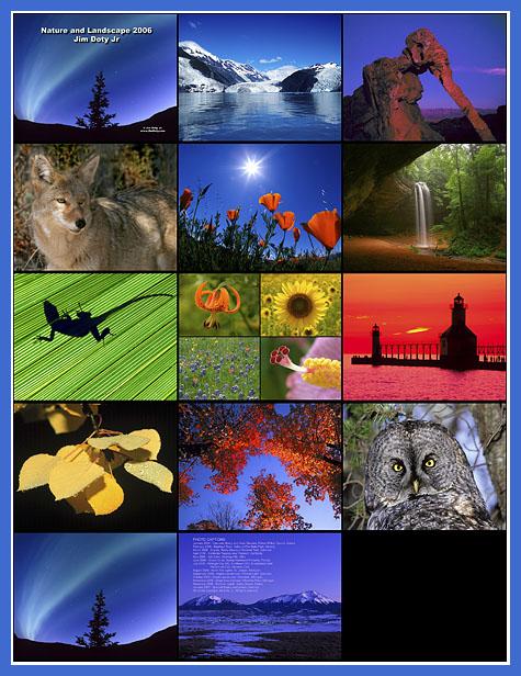 2006 Nature Calendar Preview