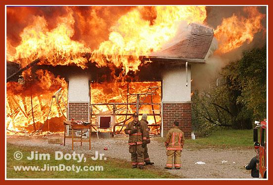 Fire, Columbus, Ohio