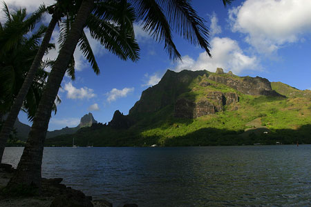 Island of Moorea, French Polynesia