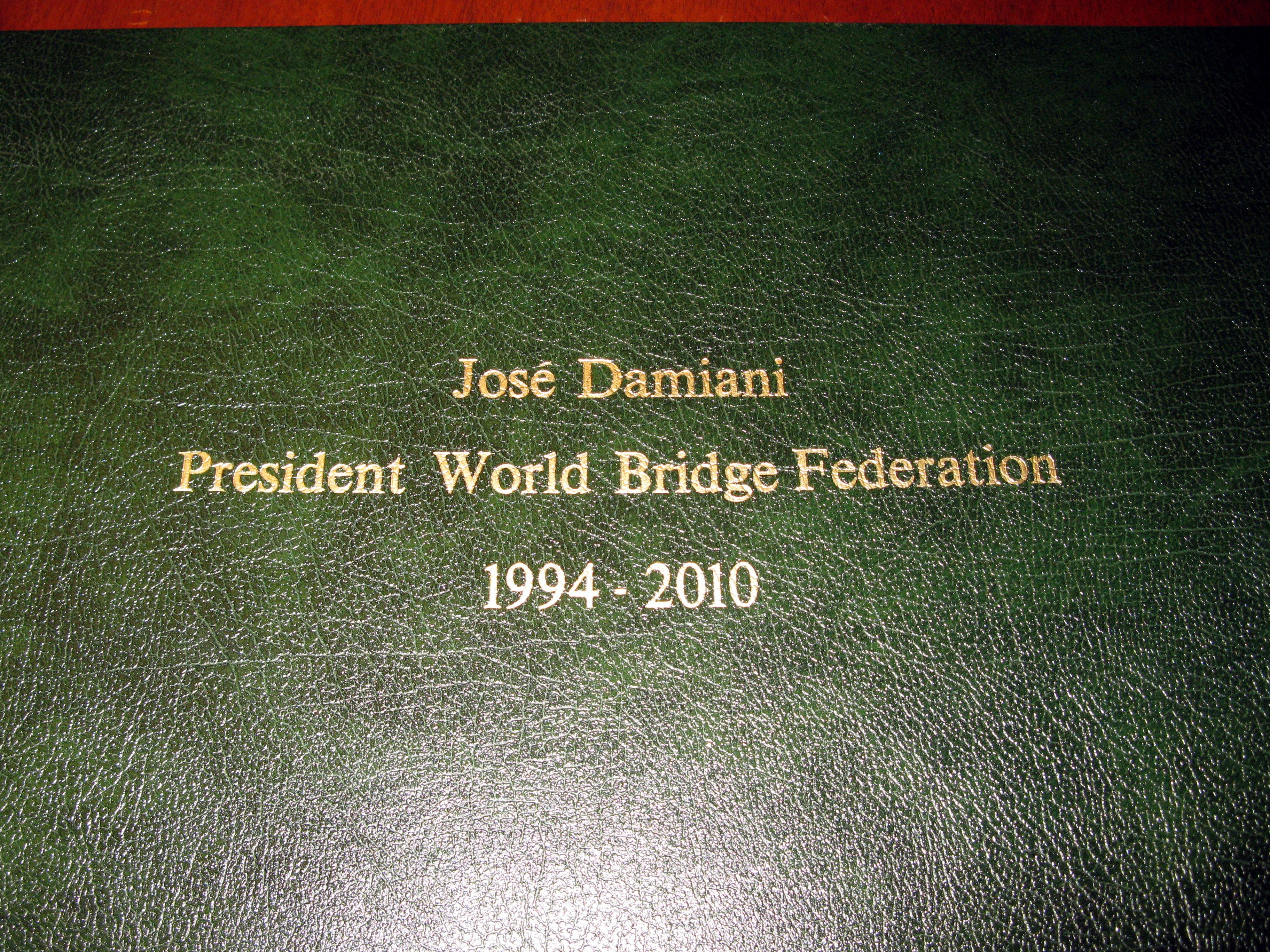 WBF World Series of Bridge